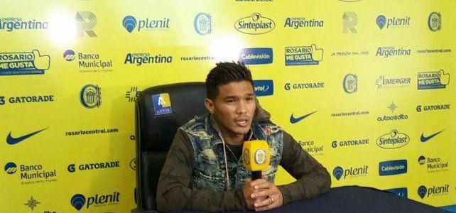 Teo Gutiérrez disfruta de su buen momento en Central: La felicidad que tenemos se ve reflejada en la cancha
