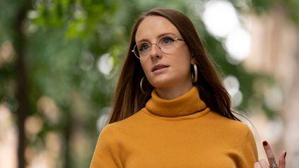 Charlotte Bennett, ex asesora sanitaria y denunciante del ex gobernador de Nueva York Andrew Cuomo.