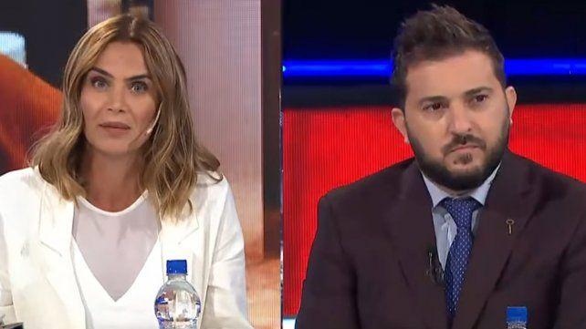 Picante cruce entre Amalia Granata y Diego Brancatelli por la condena a Lázaro Báez