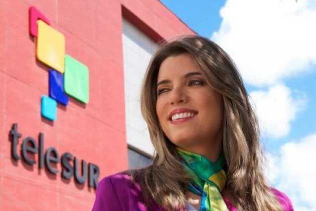 Patricia villegas. Directora de la señal multiestatal Telesur.