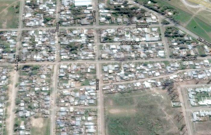 La zona donde esta noche intentaron usurpar viviendas. (imagen: Google Maps)