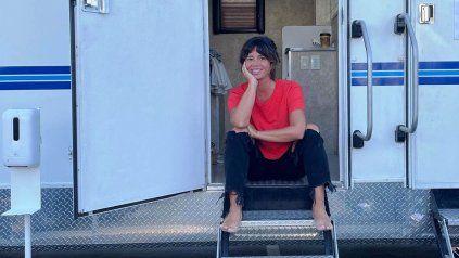 Griselda Siciliani terminó de filmar en México con González Iñárritu