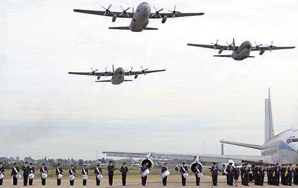 Malvinas. La Fuerza Aérea celebró el 31º aniversario del bautismo de fuego.