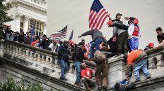 El asalto al Capitolio de 6 de enero. Los trumpistas quieren repetirlo, tal vez el 17 o el 20 de enero.