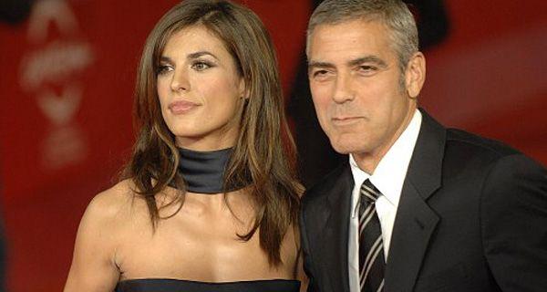 George Clooney dejó ir a su muñeca, Elisabetta Canalis