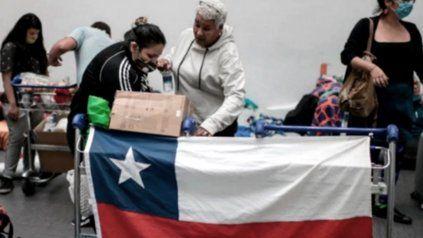 Chile continúa con más de 7 mil casos diarios y con los hospitales al borde del colapso
