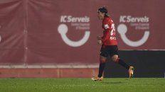 Primer gol para el argentino Luka Romero con un récord