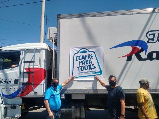 Gremios de Rosario llevan a los barrios el programa nacional Compre para Todxs