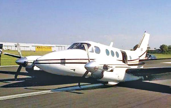 Antecedente. El avión siniestrado anoche ya había sufrido un percance hace unos meses en San Fernando.