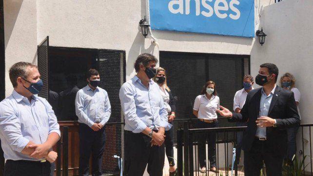 Inauguraron un punto fijo de atención de Anses en Funes