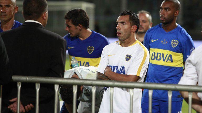 La interna está a la vista y fue Tevez quien respondió a Orión: Es la primera final que yo pierdo.