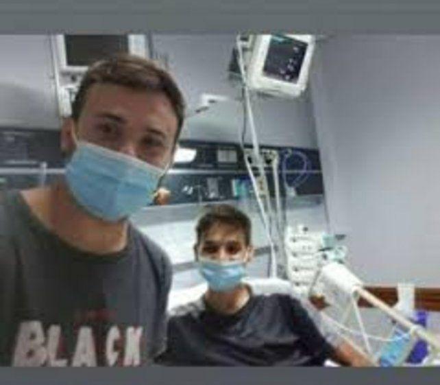 La salud de Branco Tuti Járuegui se deterioró después que contrajo covid.