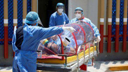 Otras 209 personas murieron y 6.899 fueron diagnosticadas con coronavirus en el país