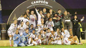 Ferroviaria ganó la última Copa Libertadores Femenina que Argentina organizó por primera vez en su historia en marzo de este año con sede en Vélez y Deportivo Morón.