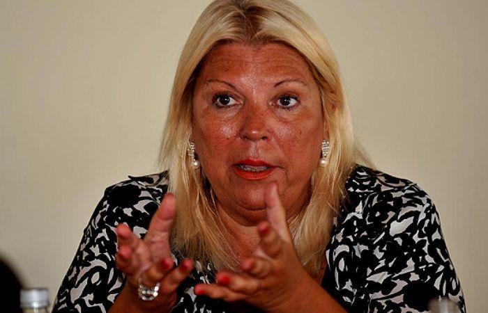 Carrió también dijo que el ex ministro de Justicia y actual embajador en Uruguay