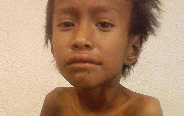 Penoso. Néstor Femenía vivía con su familia en el paraje Paso Sosa.