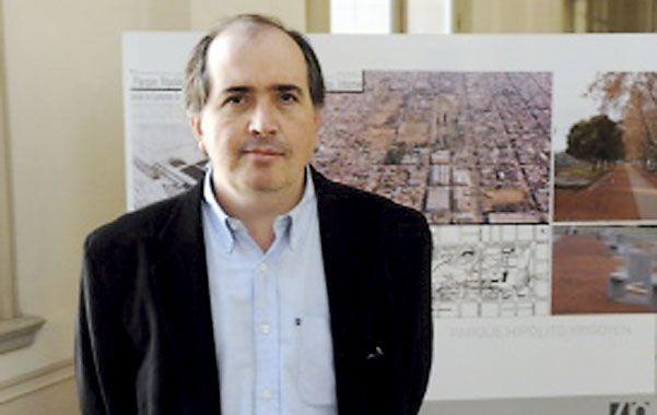 """Barese destacó que las obras producen una """"transformación histórica""""."""