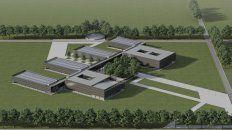 Así lucirá el futuro edificio de Veterinarias una vez culminada la totalidad de la obra