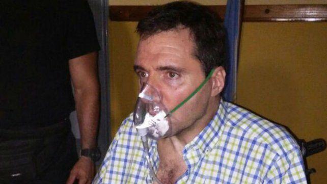 El concejal San Martino sufrió una violenta agresión y tuvo que ser asistido por médicos