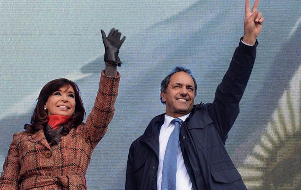 Más cerca. Cristina ahora confía en que con Scioli en el gobierno el actual modelo va a tener continuidad.