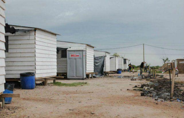Construirán seis viviendas de emergencia en el barrio Los Unidos
