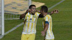 Emiliano Vecchio y Marco Ruben, piezas claves en el andamiaje del club de Arroyito.