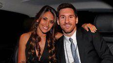 Antonella Roccuzzo y Lionel Messi, el matrimonio rosarino más famoso.