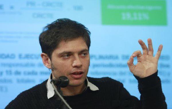 El ministro Kicillof dijo que denunciará al abogado que pidió que lo investiguen por presunto enriquecimiento ilícito.