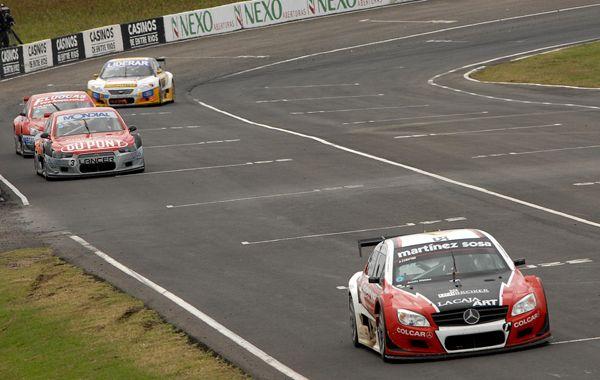 El Mercedes de Canapino ganó la última prueba de la Etapa de Otoño.