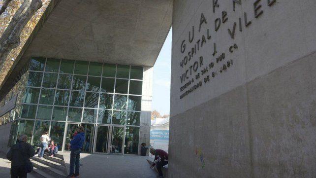El nene de tres años seguía internado en el Hospital de Niños Víctor J. Vilela.