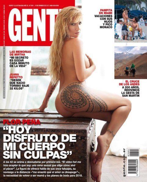 Acepté que soy una mina sexual, confesó Florencia Peña que se desnudó por primera vez