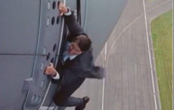 La arriesgada escena de Tom Cruise.