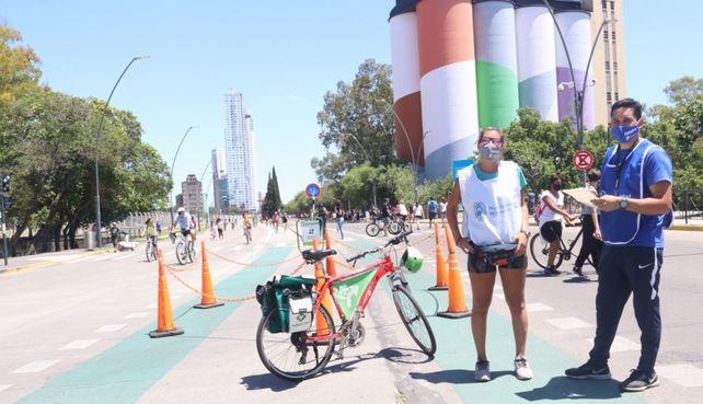 Larga jornada. Los amantes de la bicicleta tendrá la chance de disfrutar de un domingo de relax. Habrá muchas actividades.