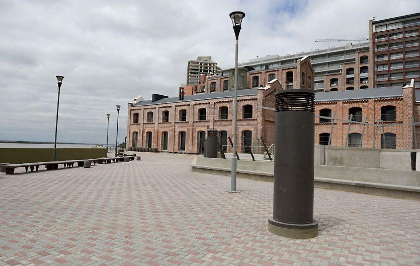 Prometedores. Los trabajos ya evidencian los cambios que se vienen para la costa rosarina.