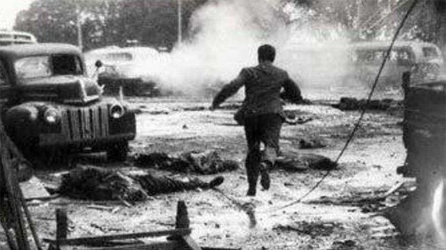 El bombardeo a la Plaza de Mayo tenía el objetivo de derrocar a Perón.