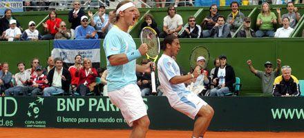 Copa Davis: Argentina ganó el dobles y sacó ventaja de 2-1 sobre Suecia