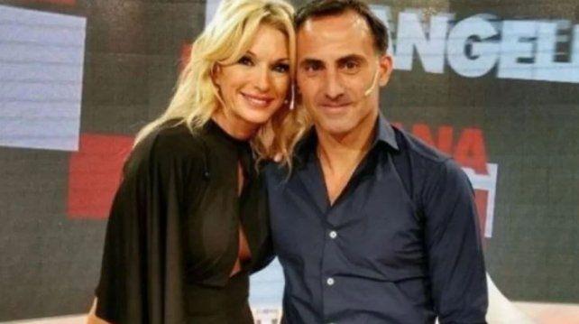 Yanina y Diego Latorre, separados pero juntos por la Ciudad Luz