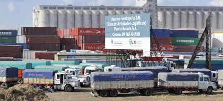La deuda de Terminal Puerto Rosario duplica el cálculo que hizo la empresa