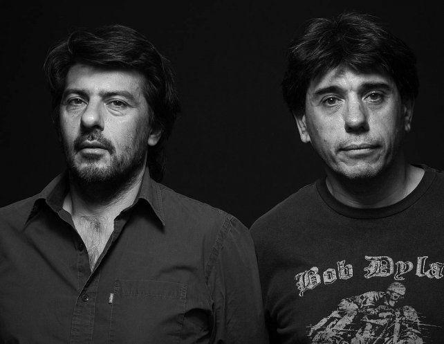 Los periodistas Pablo Perantuono y Mariano del Mazo.