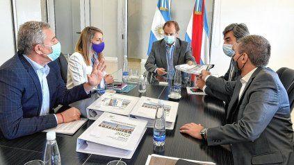 Gustavo Bordet presentó el proyecto de Presupuesto 2022