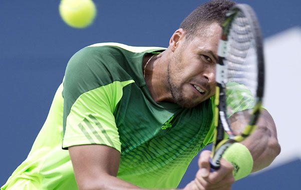 Sólido. Tsonga derrotó a Murray en tres sets. El jueves eliminó a Djokovic.