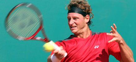 Tenis: Nalbandian debutó con un triunfo en el Masters 1000 de Montecarlo
