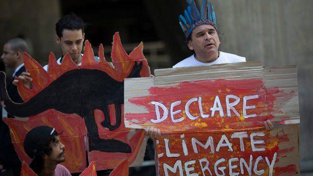 Protestas ambientalistas en todo el mundo contra los incendios en Australia