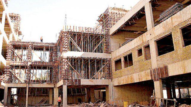 La construcción reflejó una caída del 3