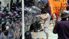 La policía reprimió con violencia extrema a los manifestantes en la capital de Formosa.