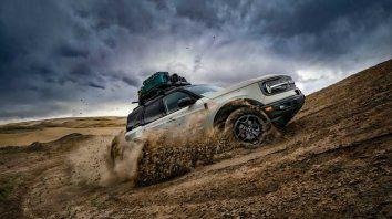 Ford lanza la Bronco Sport en Argentina