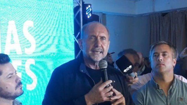 Perotti se declaró ganador de la interna y dijo que ahora se debe trabajar todos juntos, ningún brazo sobra