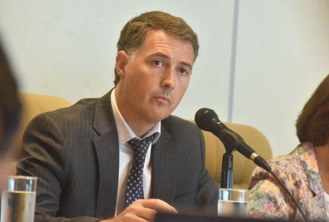 El juez Gastón Boulenaz.