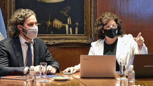 La Ministra de Salud de la Nación