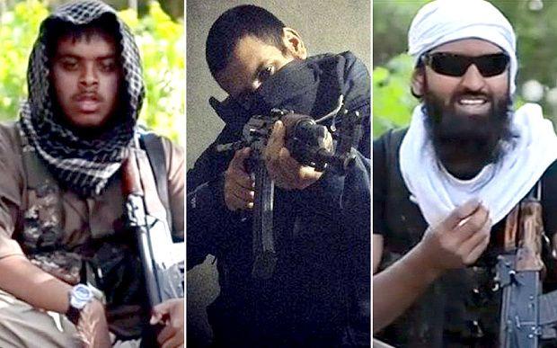 Eliminados. Los terroristas británicos abatidos por un drone de Londres en Raqa